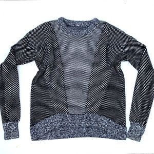 Lululemon M Pullover Crew Neck Wool Sweater